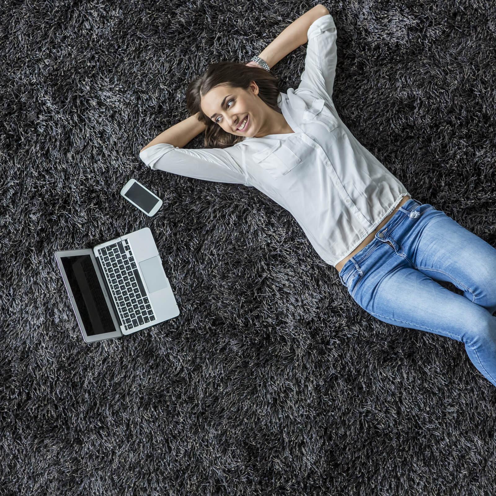 Black carpet | Elite Flooring and Interiors Inc