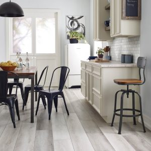 Farmhouse kitchen vinyl floring | Elite Flooring and Interiors Inc