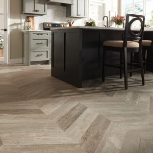 Glee chevron tile flooring   Elite Flooring and Interiors Inc